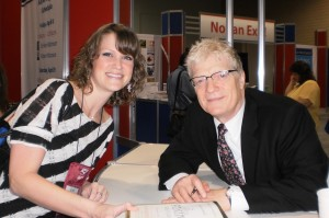 Sir Ken Robinson and Nancye Blair at NAESP 2011